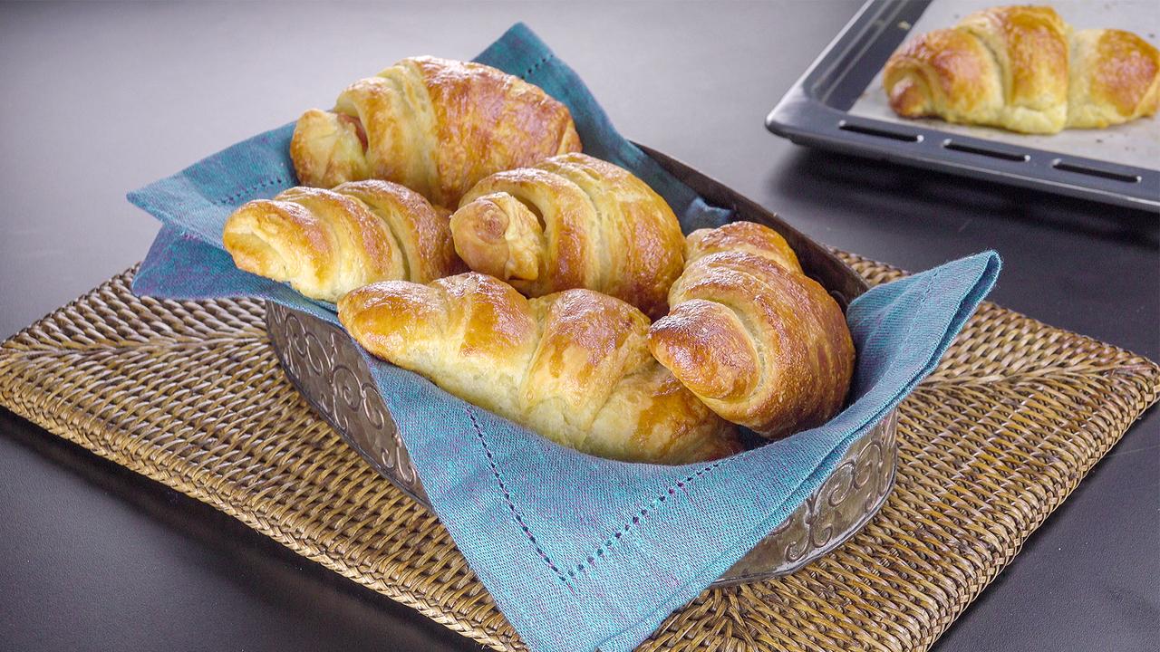 Süß und herzhaft! Croissants selber machen
