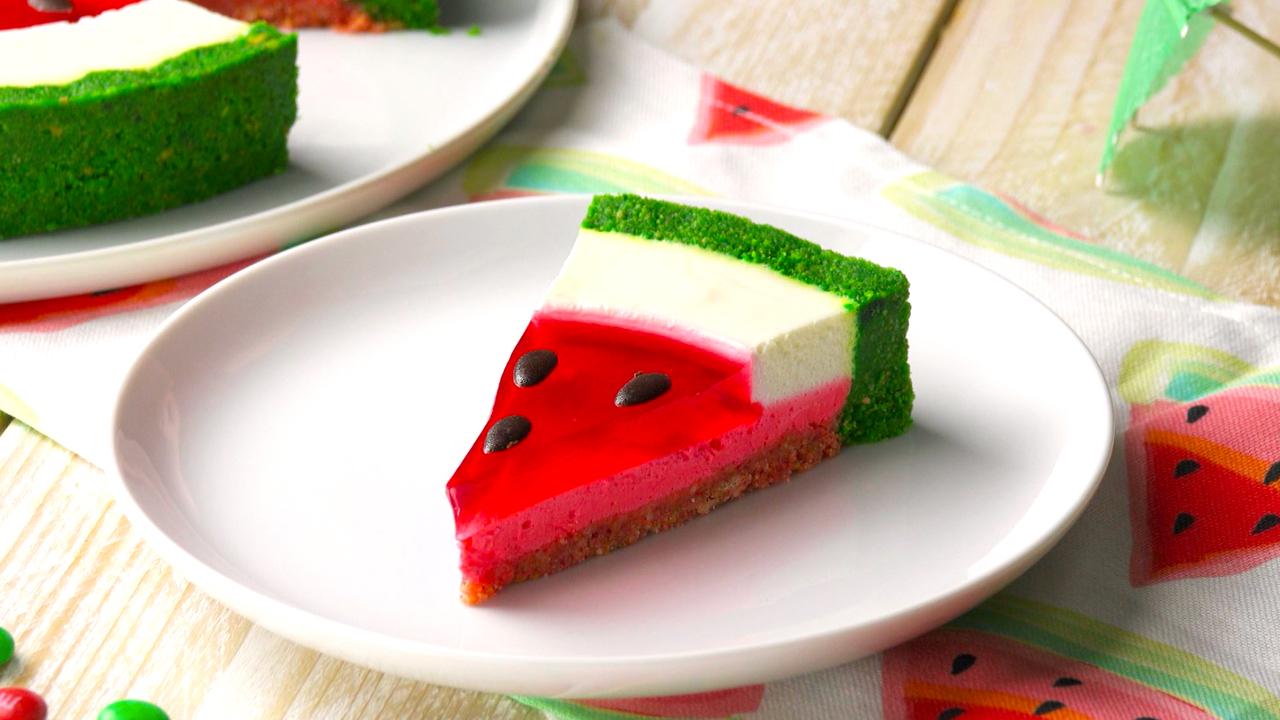 Wassermelonen Sommertorte