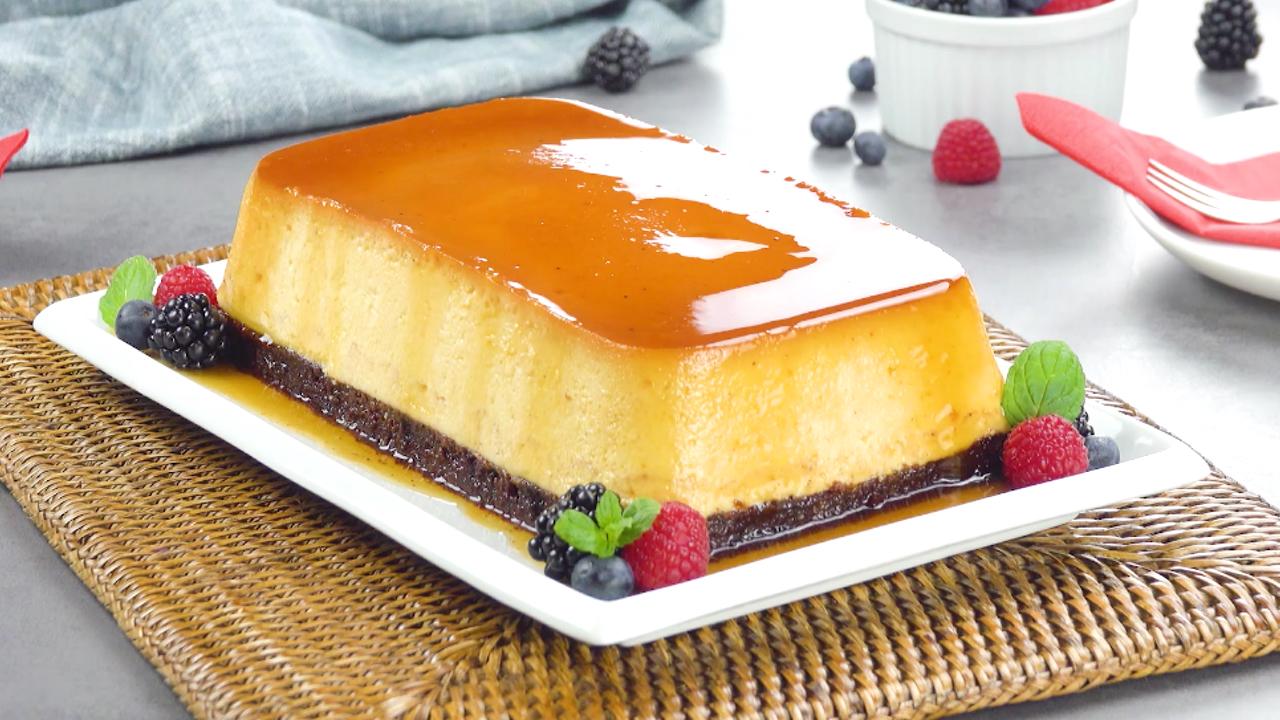 Spanischer Nachtisch in XXL - Großer Flan als Kuchen