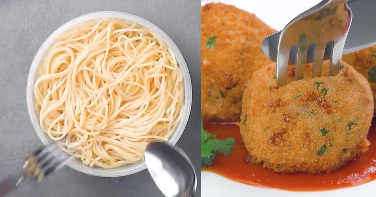 Noch Spaghetti, Kartoffeln und Reis übrig? 3 Rezepte für eine leckere Resteverwertung