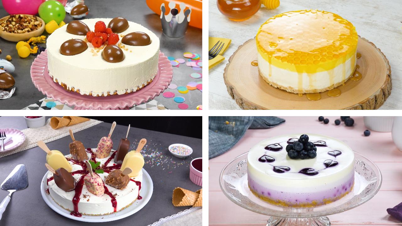 7-mal legendärer Cheesecake | Kreative Käsekuchen