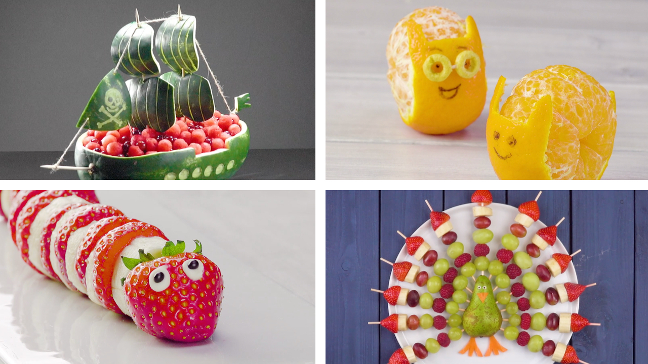 24 Ideen für einen Obstteller   Essen für Kinder   Obst