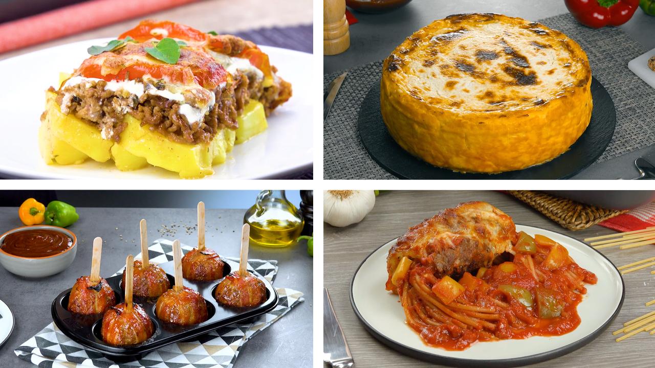 7 schmackhafte Gerichte mit Hackfleisch
