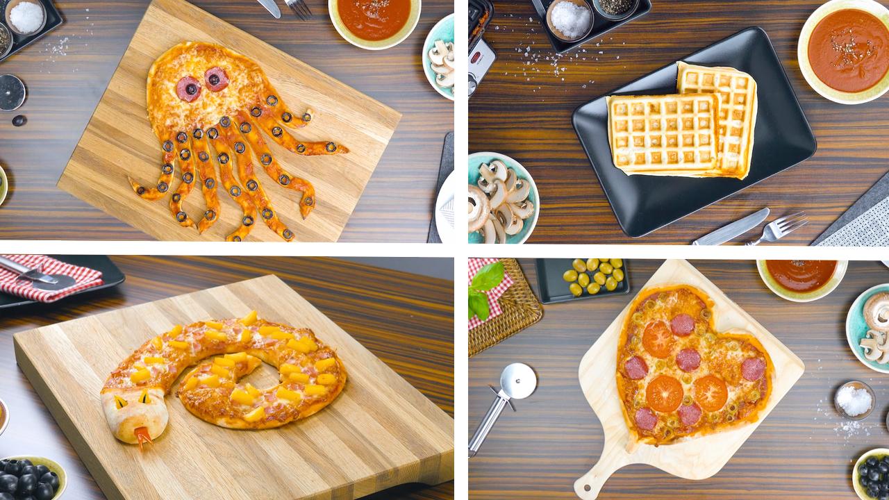 6 kreative Ideen für Pizzateig | Rezepte mit Pizzateig