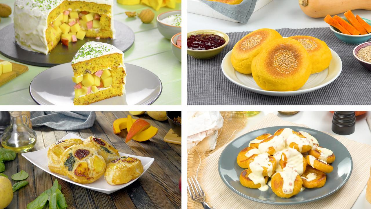 6 Rezepte mit Kürbis | Kürbisrezepte | Herbstgerichte