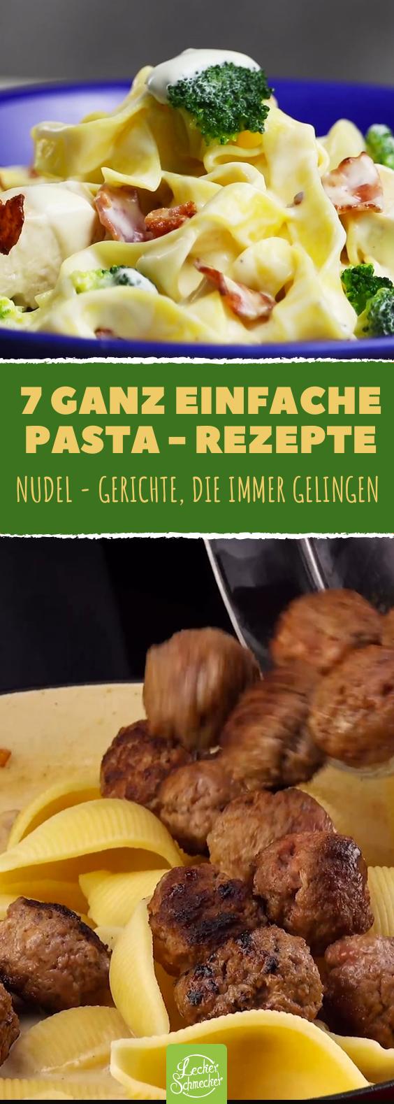 Jackpot: Das sind unsere 7 leichtesten Nudelrezepte!