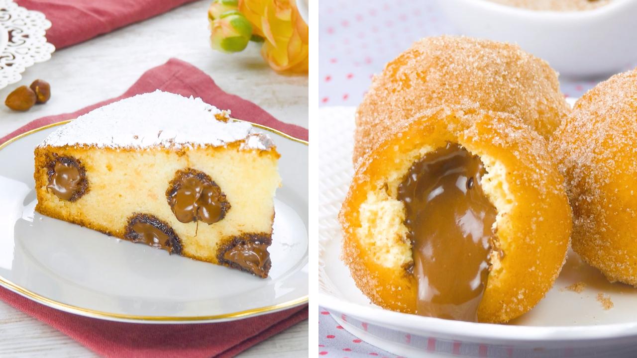 2 leckere Nutella Rezepte   Nutella Kuchen und Teigbällchen