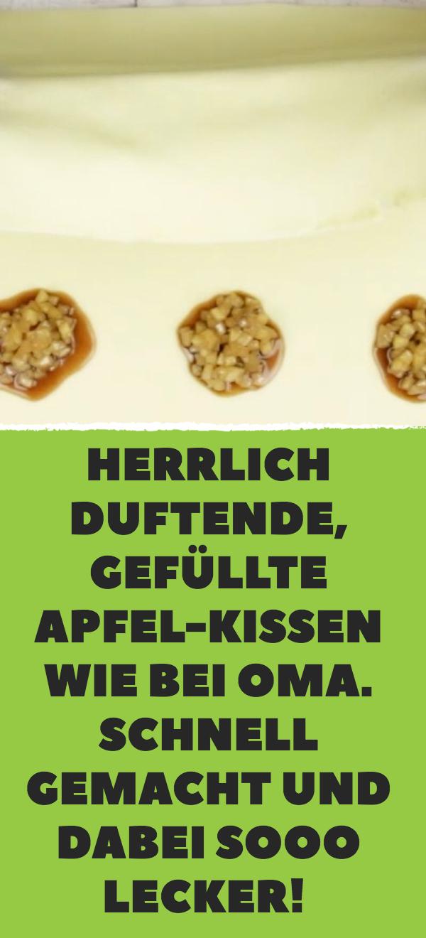 Knusprige Hülle, weicher Kern: Gefüllte Apfelkekse wie bei Oma.