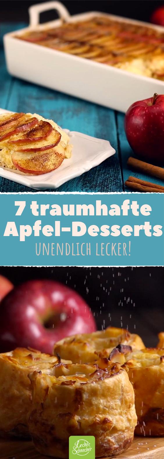 7 Dinge, die du mit Äpfeln tun solltest! Eines besser als das andere.