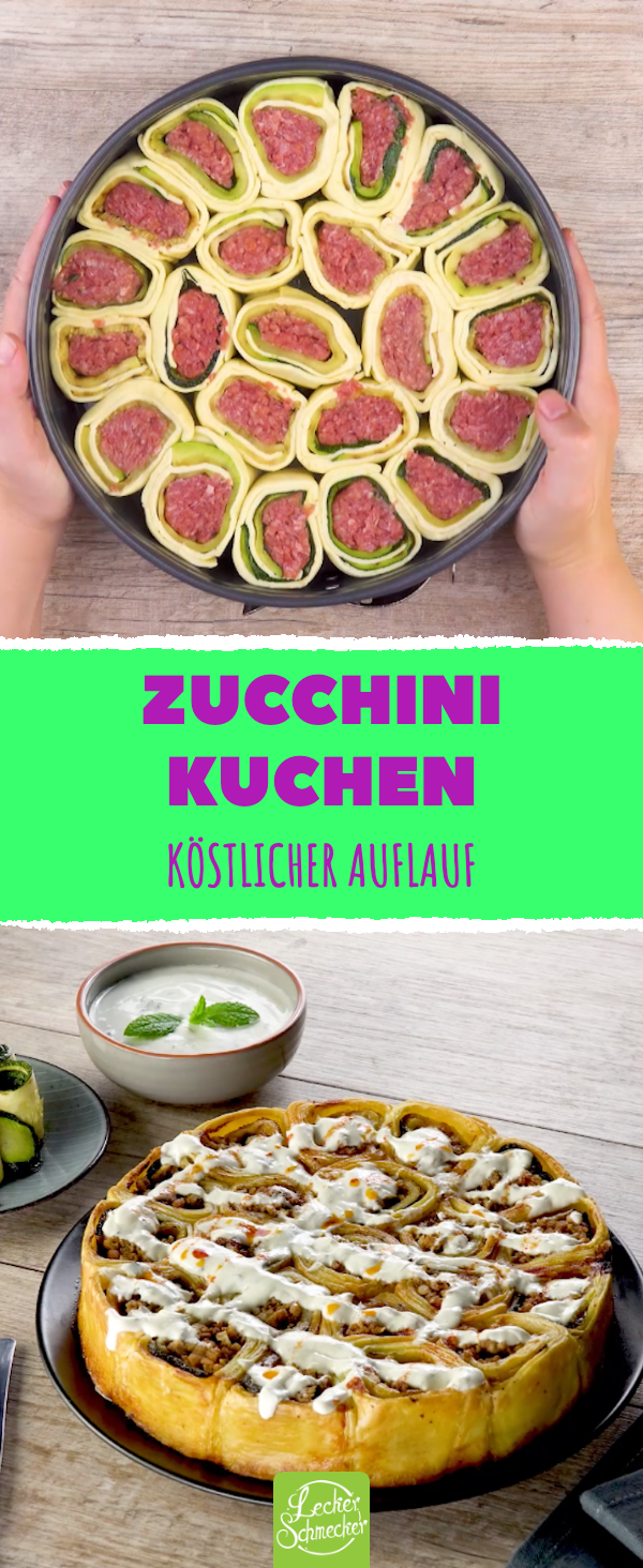 Zucchini-Kuchen – Rezept für einen Auflauf der etwas anderen Art