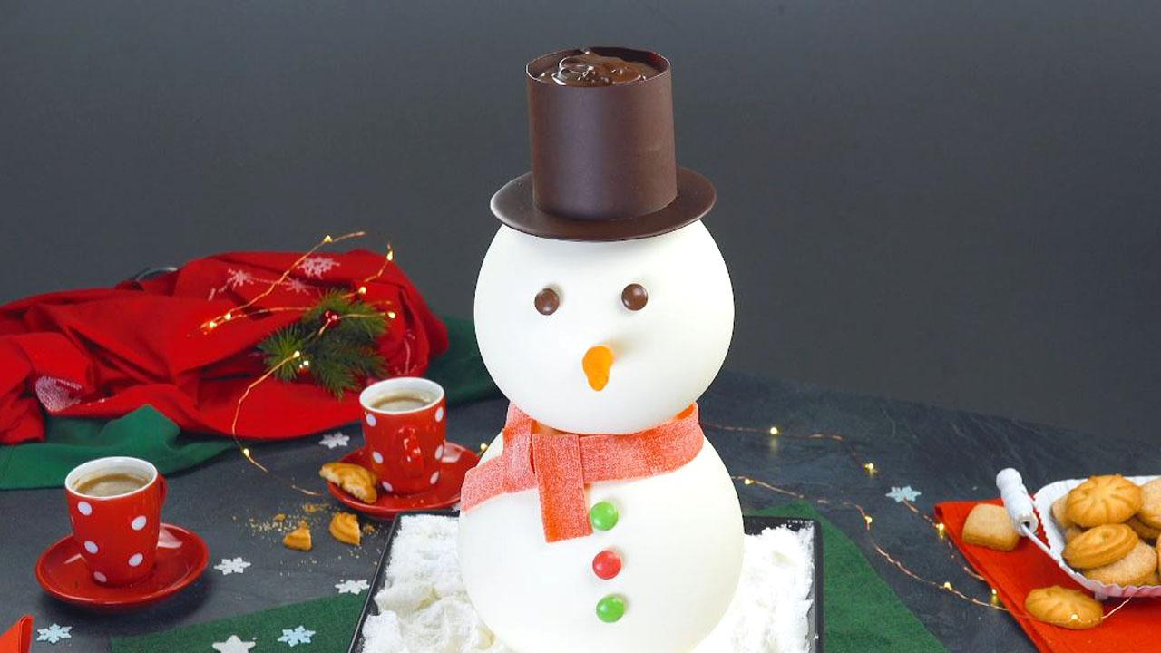 Schneemann aus Schokolade lässt Herzen höherschlagen
