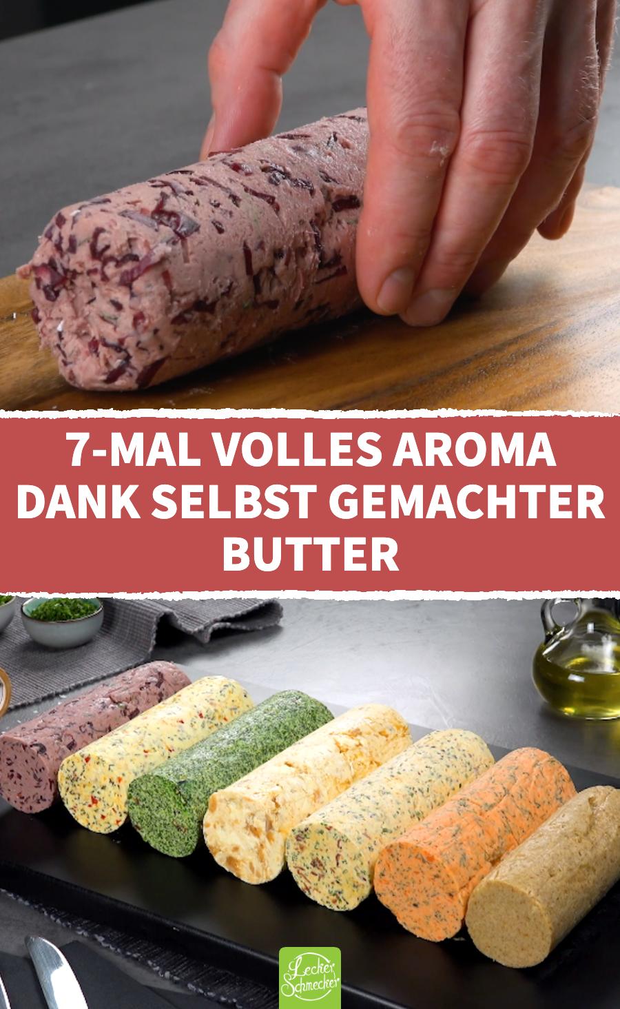 7 Ideen für Butter selber machen | Selbst gemachte Butter