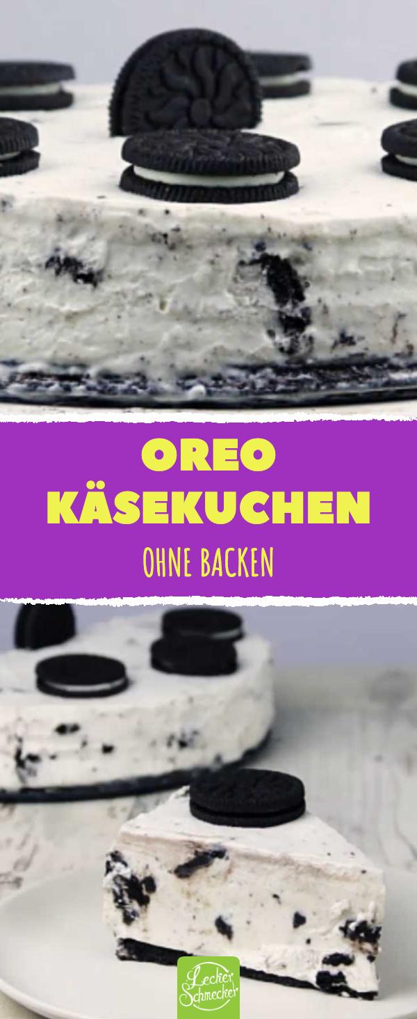 Oreo Kuchen ist das perfekte Käsekuchen Rezept ohne Backen.