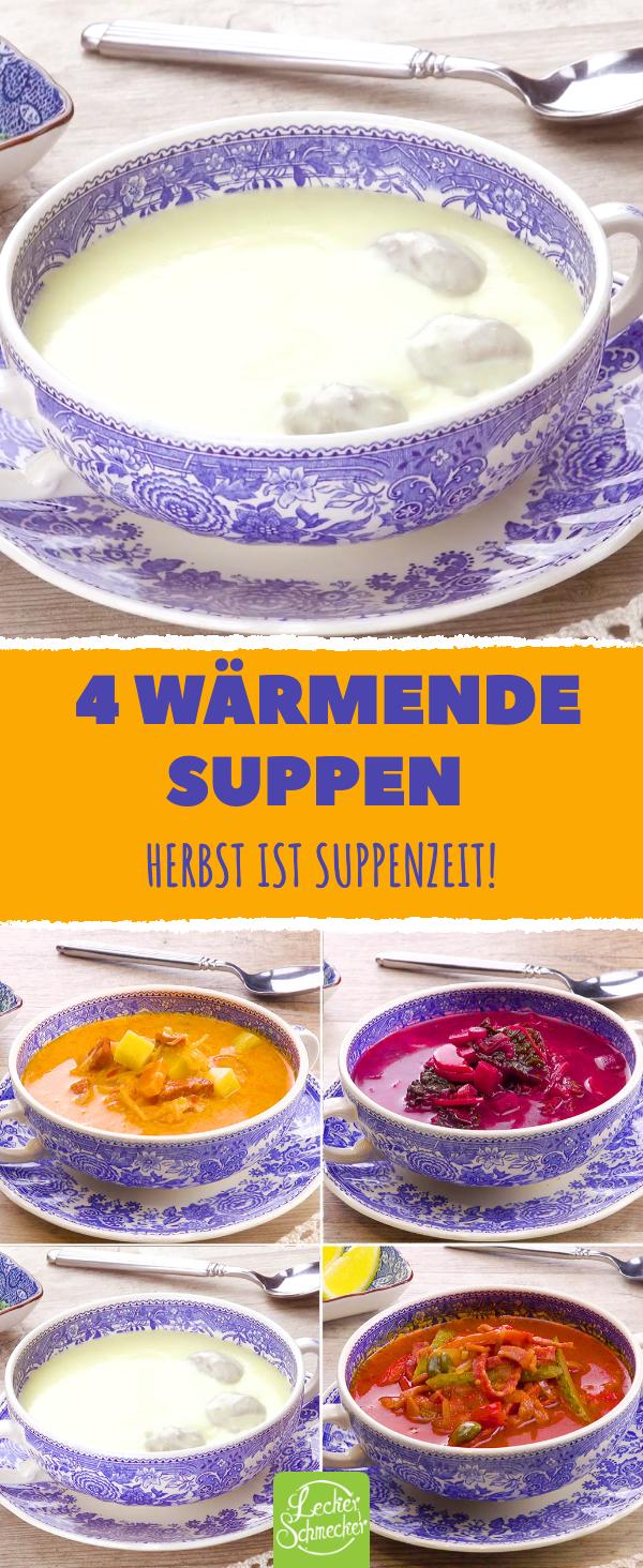 Das sind unsere 4 allerbesten Suppen zum Nachkochen!