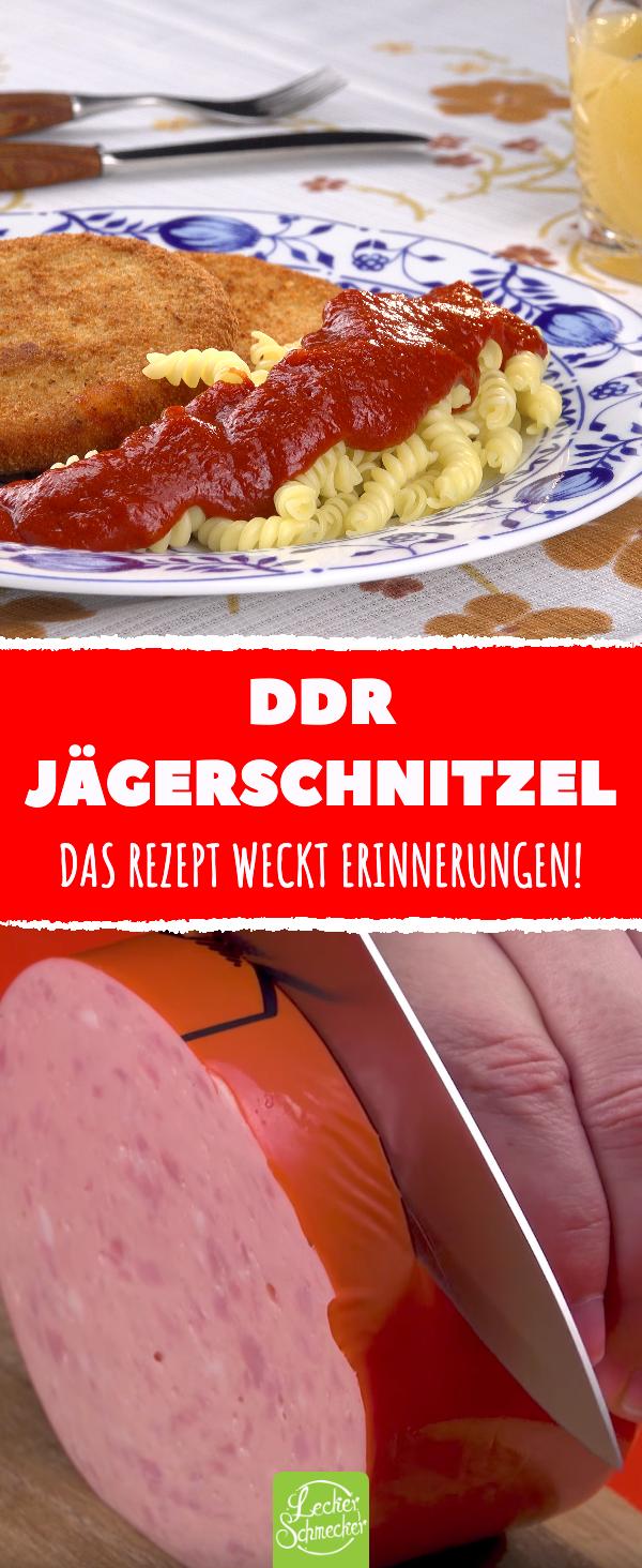 DDR-Jägerschnitzel nach traditionellem Rezept weckt Erinnerungen.