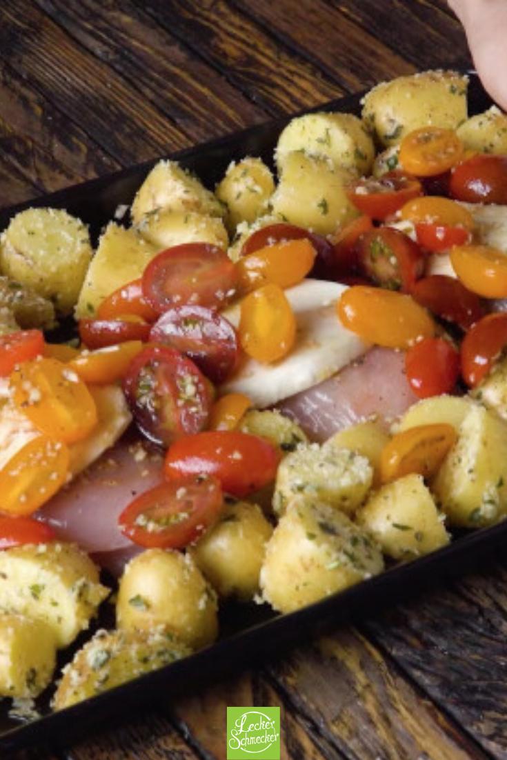 Viel Knoblauch, viel Geschmack mit Bruschetta-Hühnchen!
