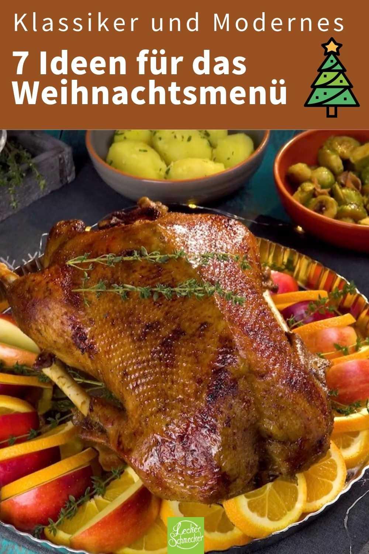 Schweinebraten, Tafelspitz, Rouladen, Weihnachtsgans & Co.: 7 Rezepte, die perfekt zu Weihnachten passen