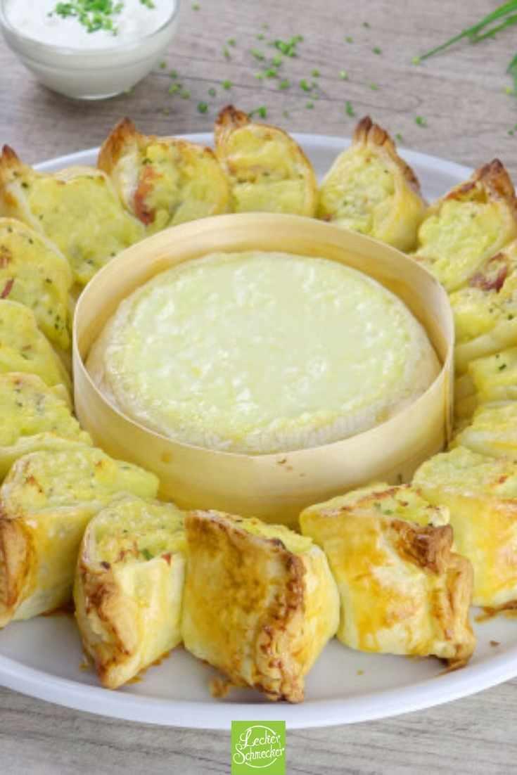 Bei dem Blätterteig-Ring mit Kartoffelpüree und Schinken kann niemand widerstehen.