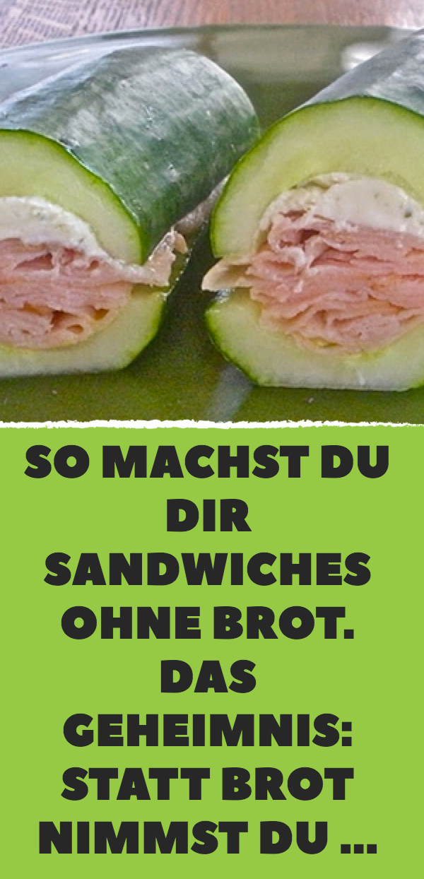 9 leckere Sandwich-Ideen ohne Brot.
