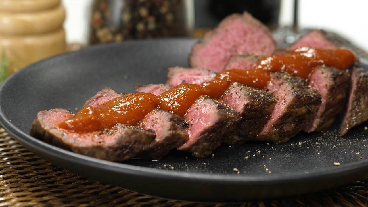 Perfekt Steak zubereiten mit der besten BBQ Soße der Welt