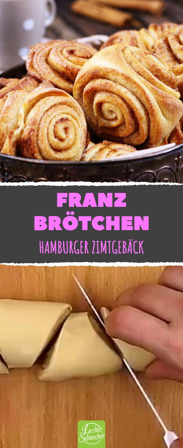Franzbrötchen leicht selber backen. Es braucht nur 8 Zutaten.
