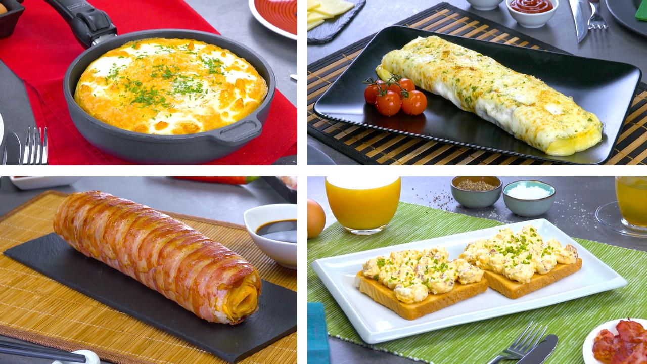 4 Rezepte mit Eiern