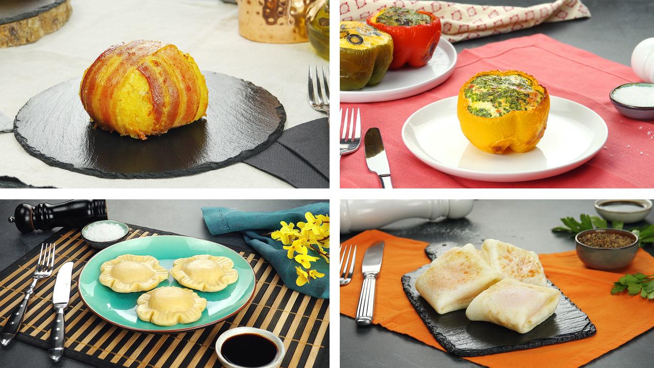 5 einfallsreiche Ideen für Eier | Besonderes Frühstücksei