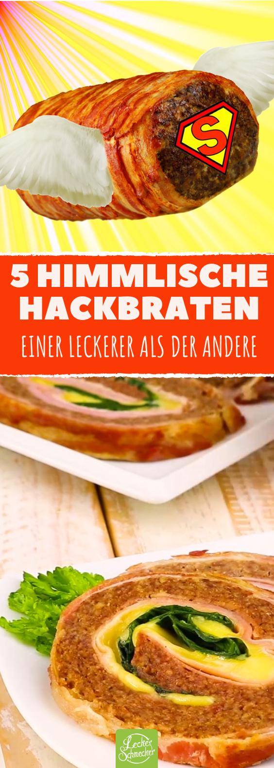 5 Hackbraten-Rezepte: so gut, dass sie verboten gehören!
