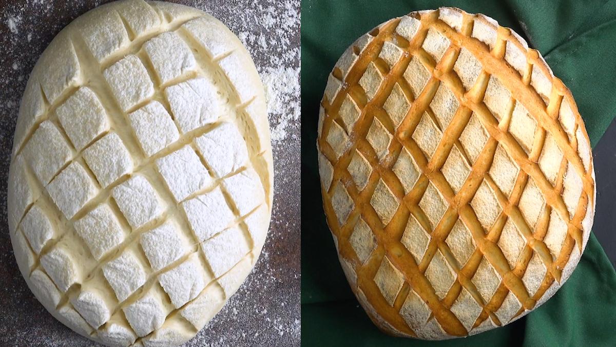 Mit Tollen Mustern Das Brot Einschneiden Holzbackofenrezepte 1