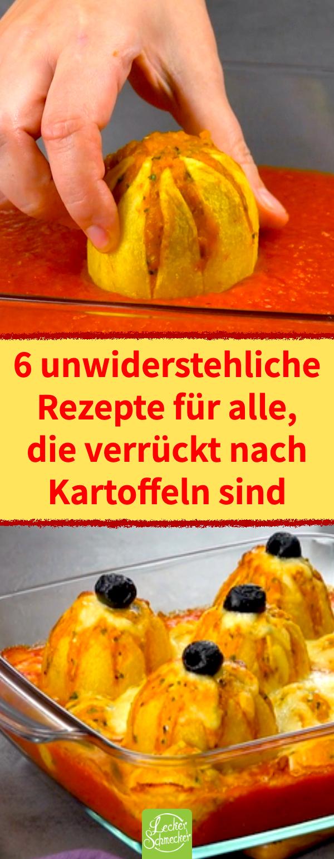 6 unwiderstehliche Rezepte mit Kartoffeln