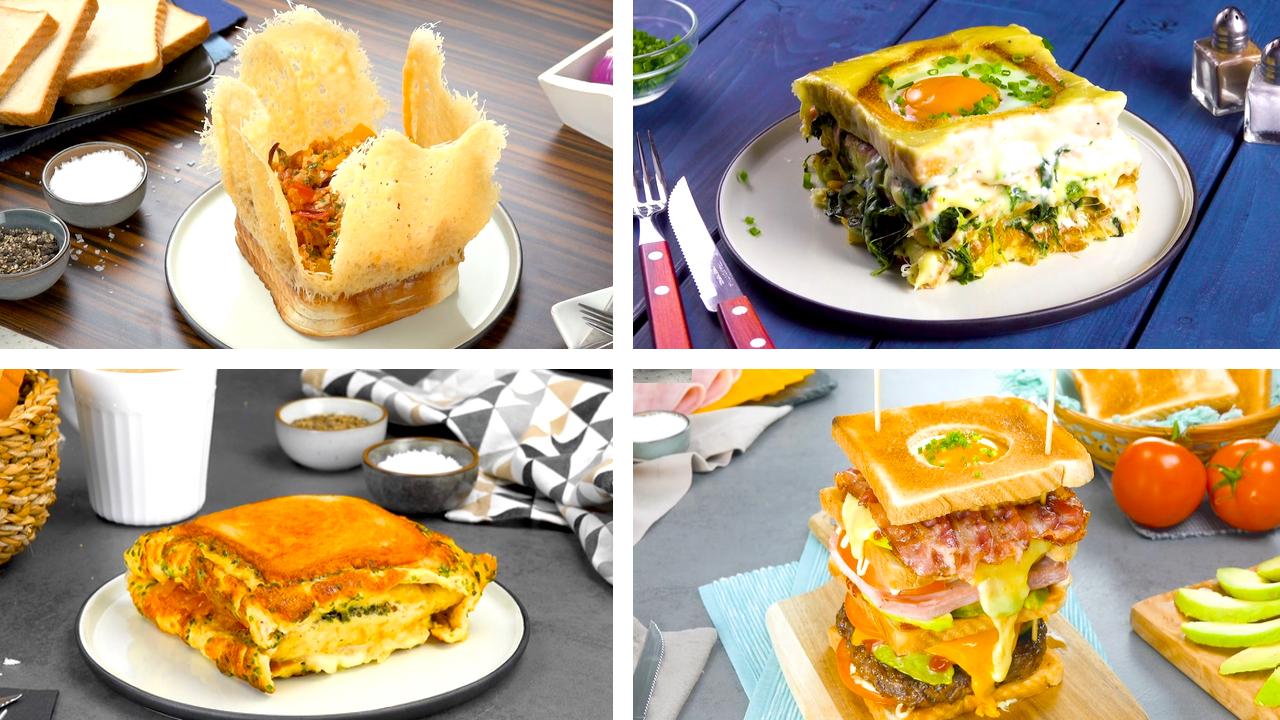 4 leckere Sandwich Rezepte