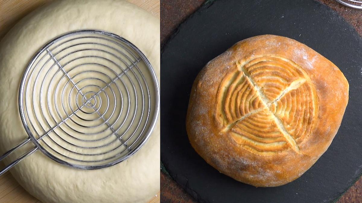 Mit Tollen Mustern Das Brot Einschneiden Holzbackofenrezepte 8