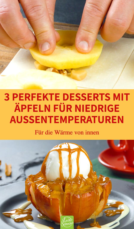 3 Apfel Rezepte für ein unvergessliches Dessert