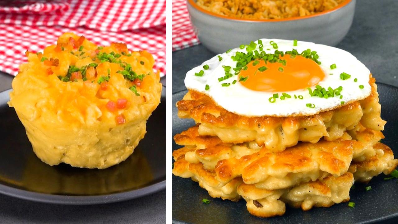 Muffins und Rösti aus Spätzle
