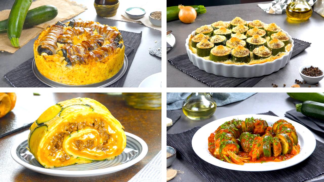 Die 5 besten Rezepte mit Zucchini