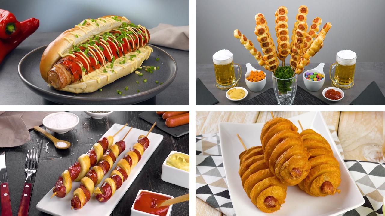 13 Rezepte für köstliche Hotdogs | Fast Food | Würstchen